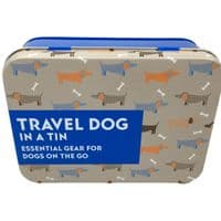 A Travelling Dog's Essentials In a Tin